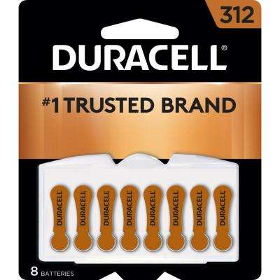 Size 312 Zinc Hearing Aid Battery (8-Pack)