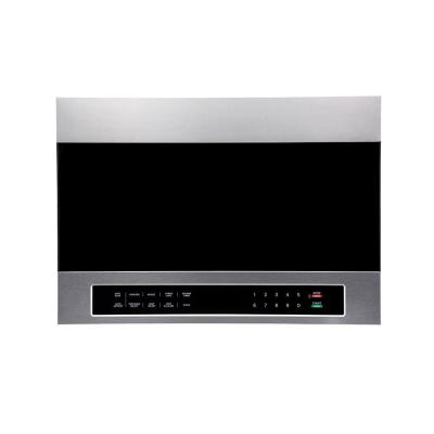 24 in. 1.34 cu. ft. Over the Counter Microwave in Stainless Steel