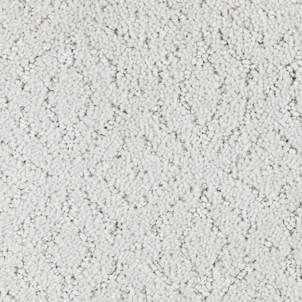 Carpet Sample - Oakleaf - Color Misty Morn Pattern 8 in. x 8 in.