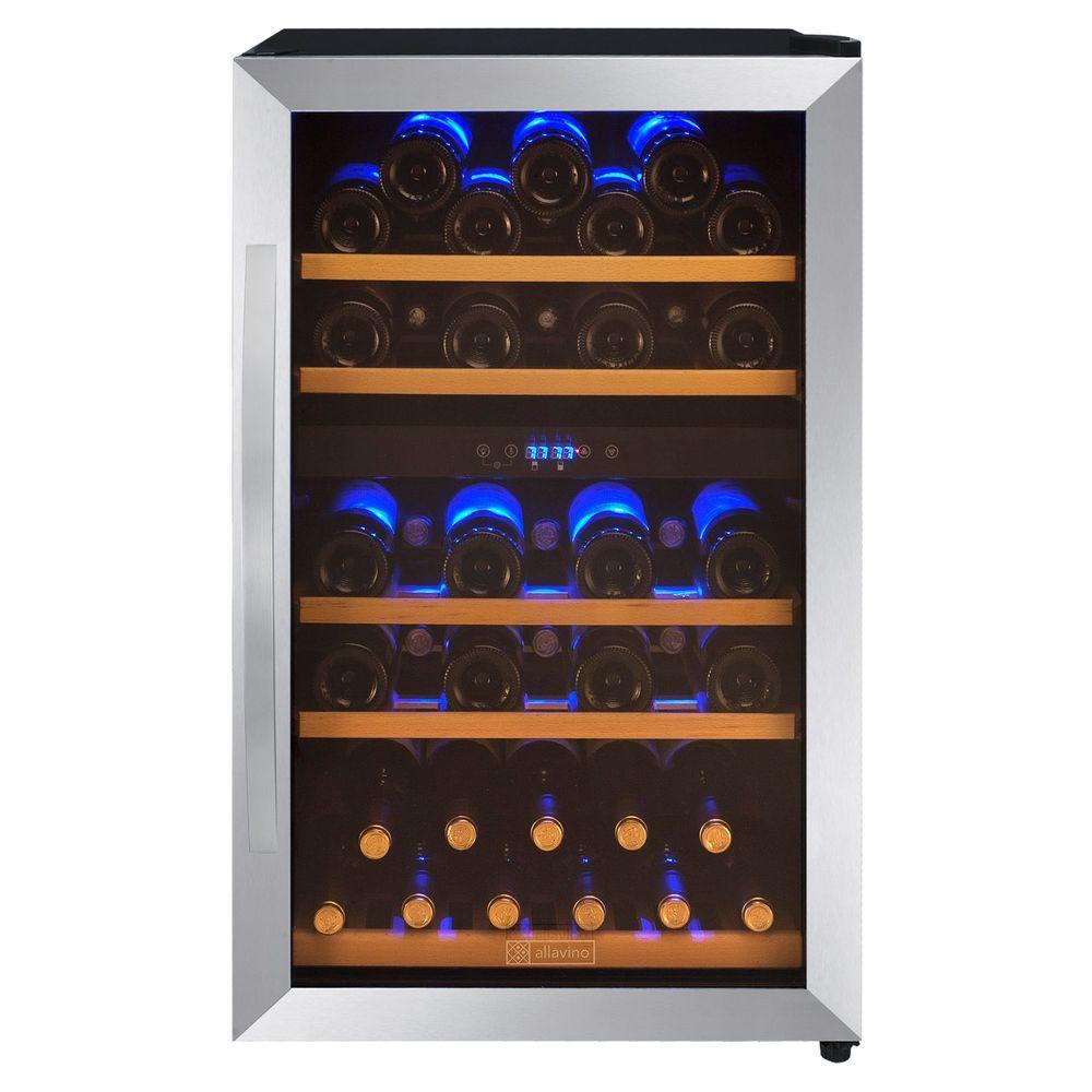 44-Bottle Dual Zone Wine Refrigerator