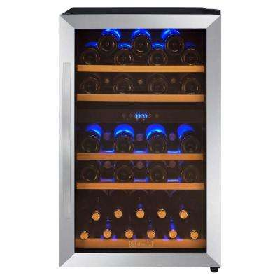 44-Bottle Dual Zone Wine Refrigerator