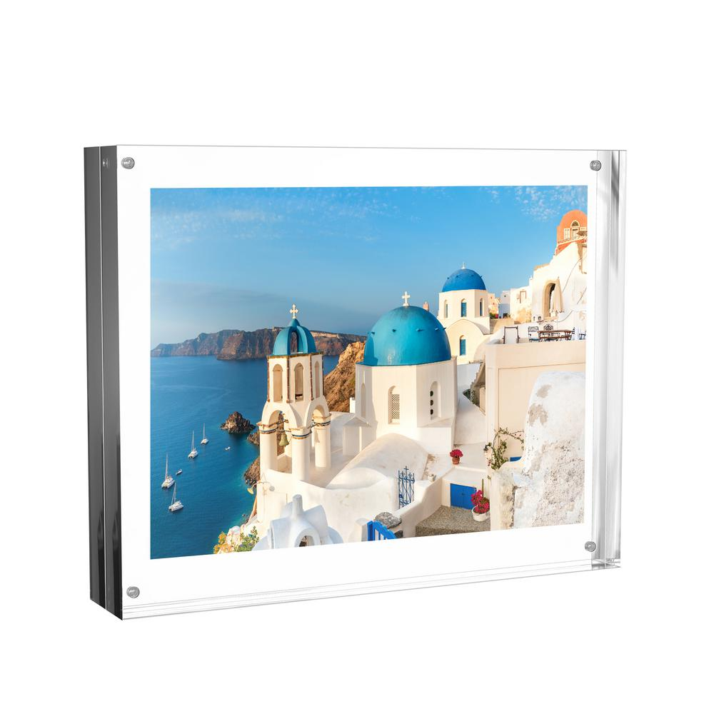 Lavish Home Clear Acrylic Picture Frame-HW0200010 - The Home Depot