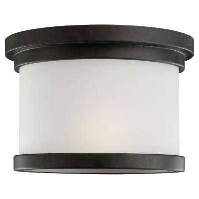 Winnetka 1-Light Forged Iron Outdoor Ceiling Fixture