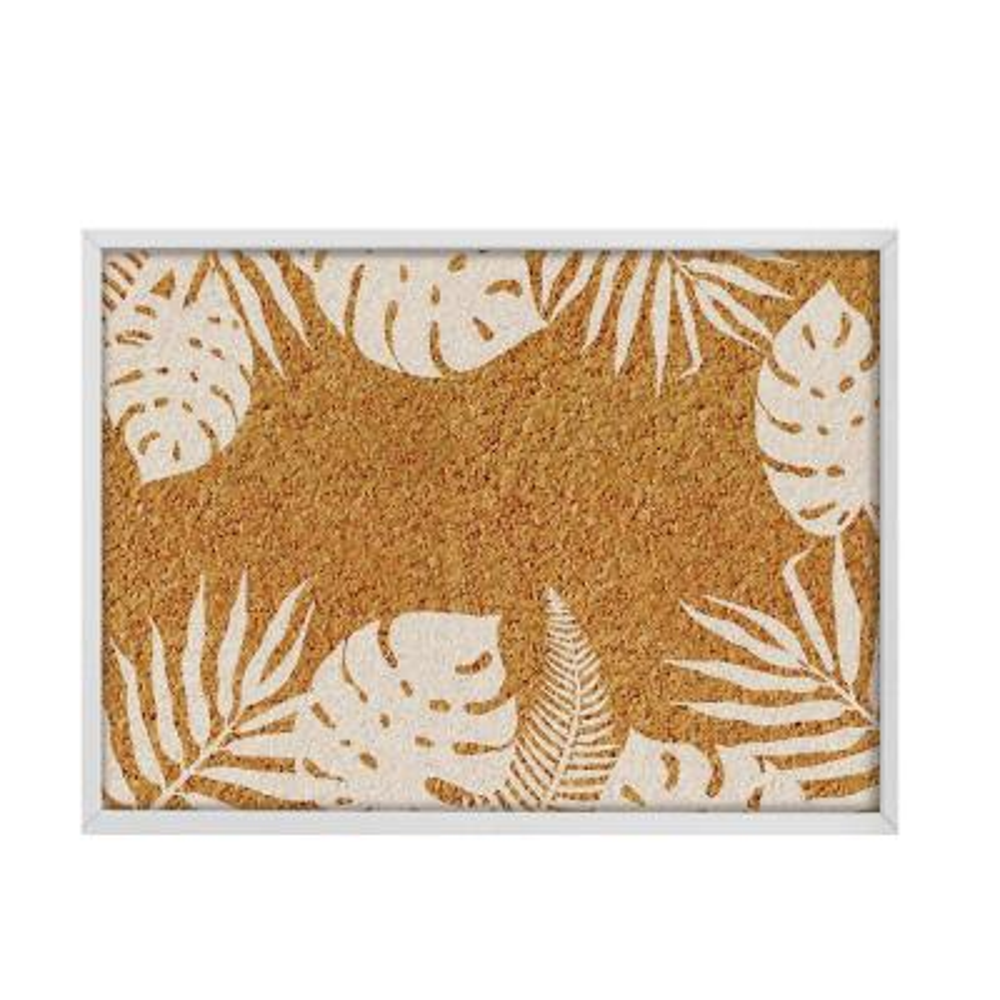 Lagoon Printed Cork Memo Board