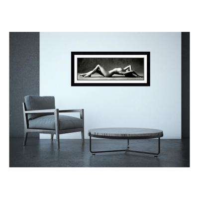 "43 in. H x 19 in. W ""Nude Reclining"" by Scott Mc Climont Framed Art Print"