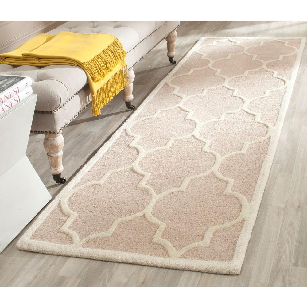 Cambridge Beige/Ivory 2 ft. 6 in. x 12 ft. Runner