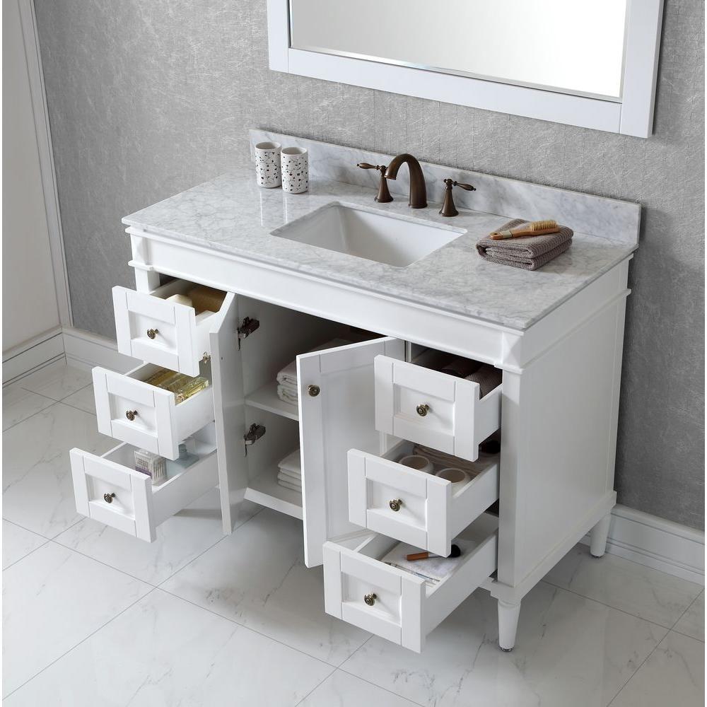 Virtu Usa Tiffany 48 In W Bath Vanity