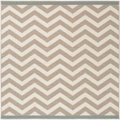 White - Square 7\' and Larger - Outdoor Rugs - Rugs - The Home Depot