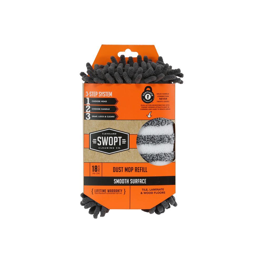 18 in. Dust Mop Microfiber Combo Refill