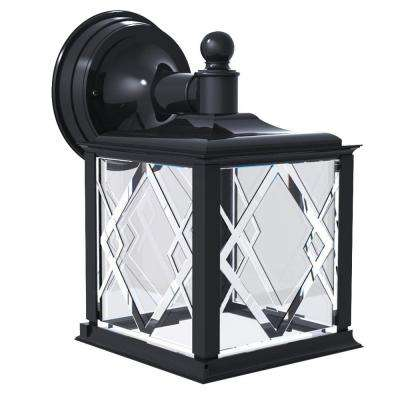 Spyglass Black Outdoor Wall-Mount Downlight