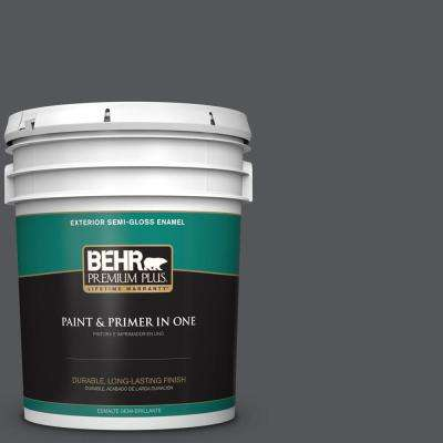 5 gal. #PPU24-22 Shadow Mountain Semi-Gloss Enamel Exterior Paint