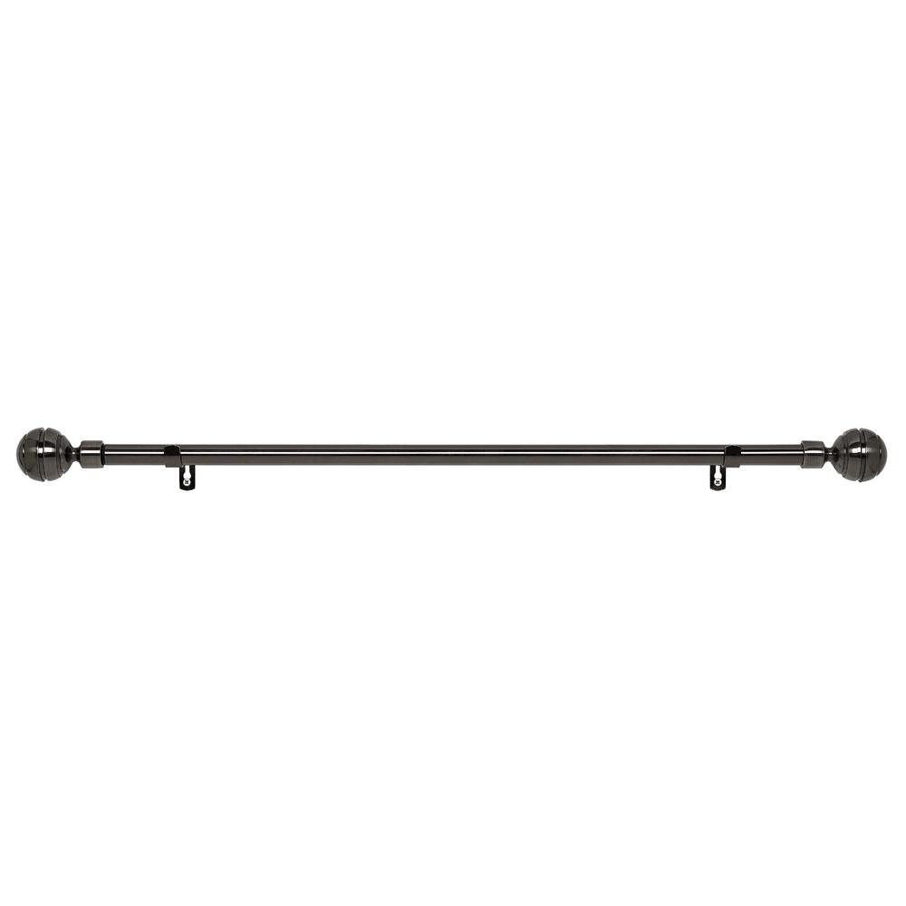Metallo 28 in. L to 48 in. L Decorative Manor Rod