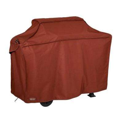 Montlake Heather Henna Medium Grill Cover