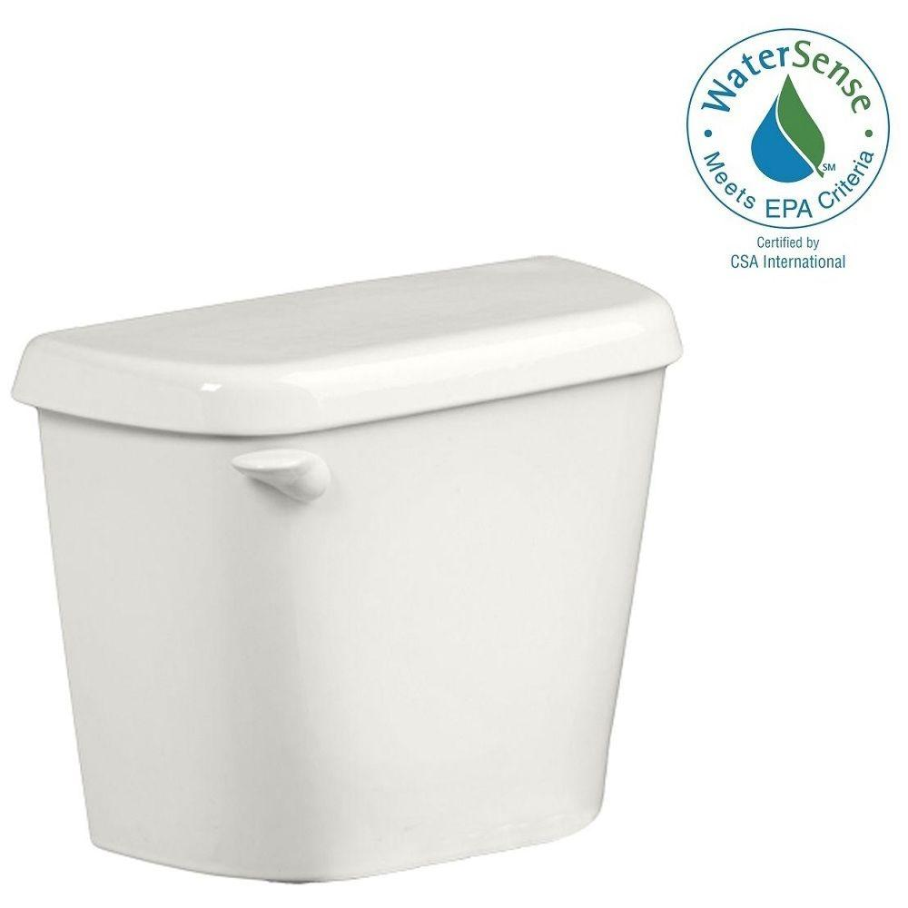 American Standard Colony 1.28 GPF Toilet Tank Only for 12 in. Rough in White with Aquaguard Liner
