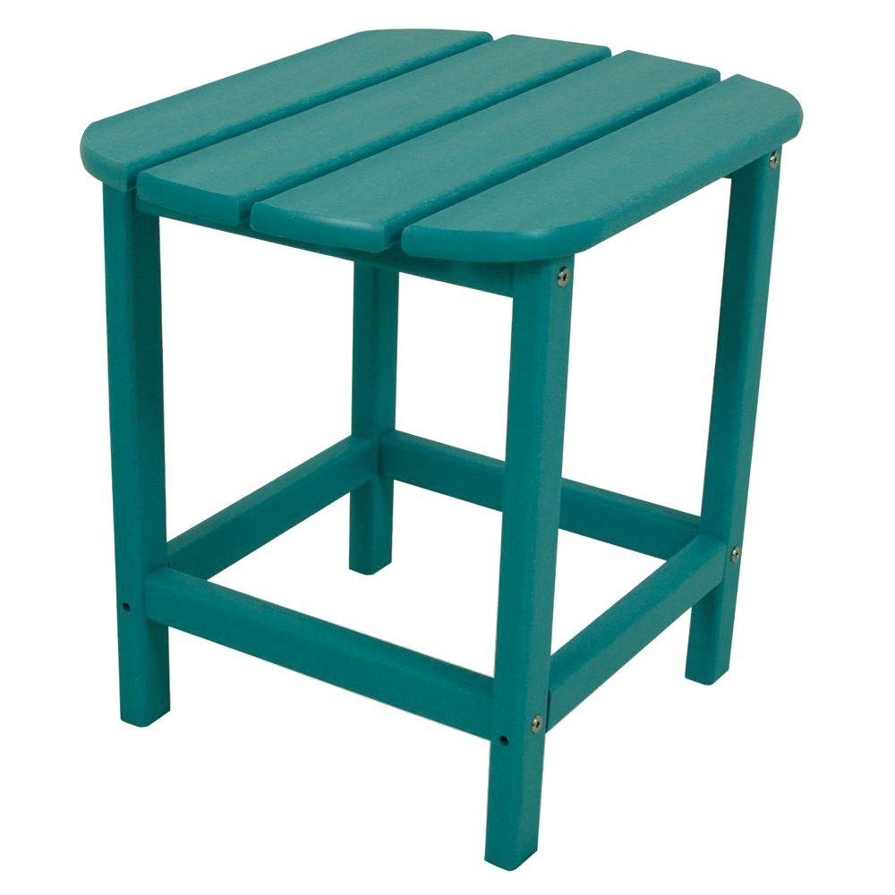 South Beach 18 in. Aruba Patio Side Table
