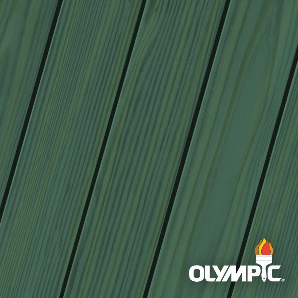Maximum 5 gal. Alligator Green Semi-Transparent Exterior Stain and Sealant in One