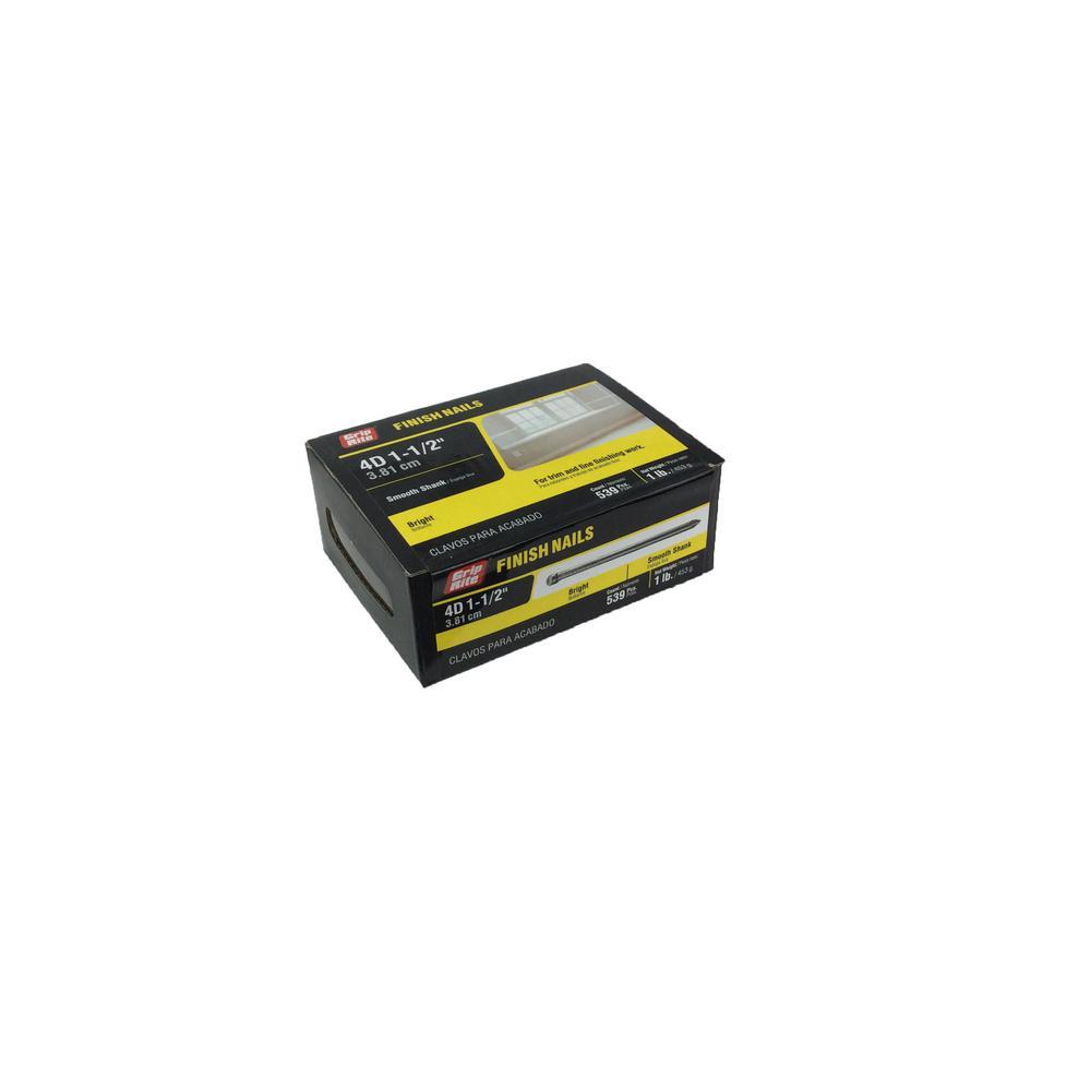 Forgefix 500NLRH50B Round Head Nails Bright Finish 50mm 500g Bag