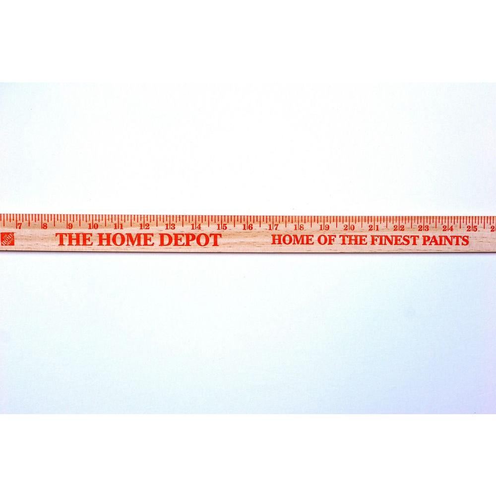 36 in. Old Time Wooden Yardstick-30045HDW - The Home Depot
