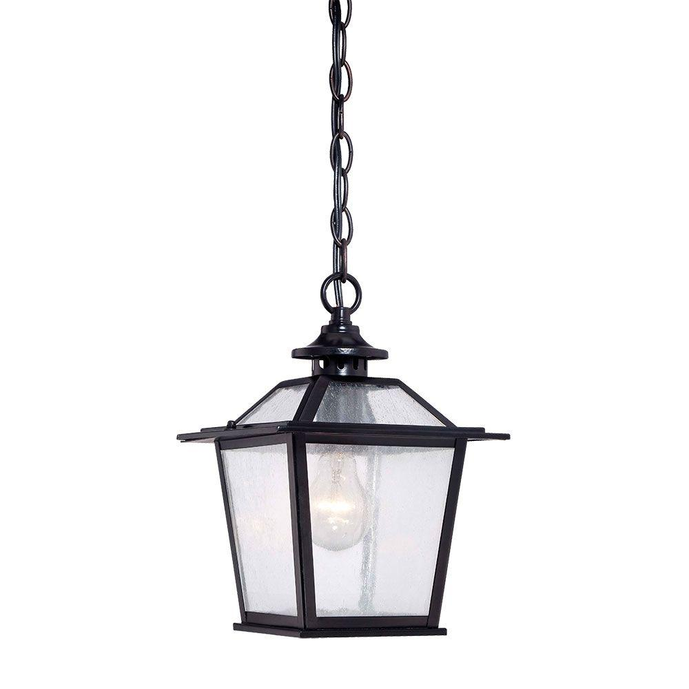Acclaim Lighting Salem Collection 1-Light Matte Black