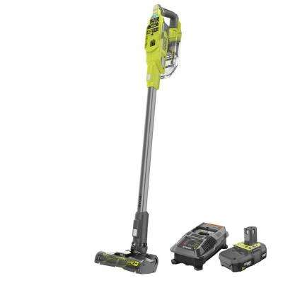 ONE+ 18V Cordless Compact Stick Vacuum Cleaner w/2.0 Ah Compact LithiumIon Battery, Dual Chemistry IntelliPort Charger