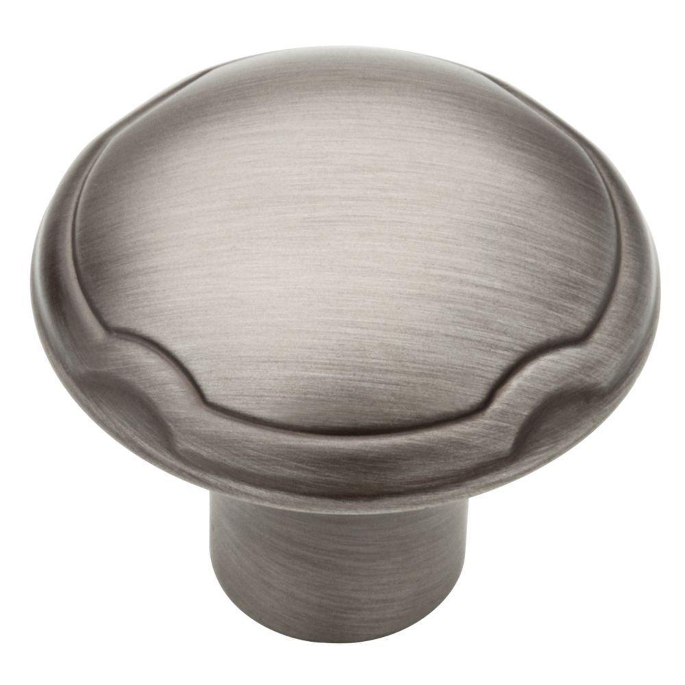 Heirloom Silver Theo Cabinet Knob
