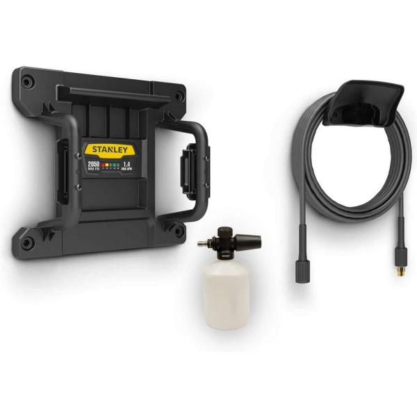 Electric Pressure Washer Wall Mount, with Former, Hose Hook, and More No Max Pressure
