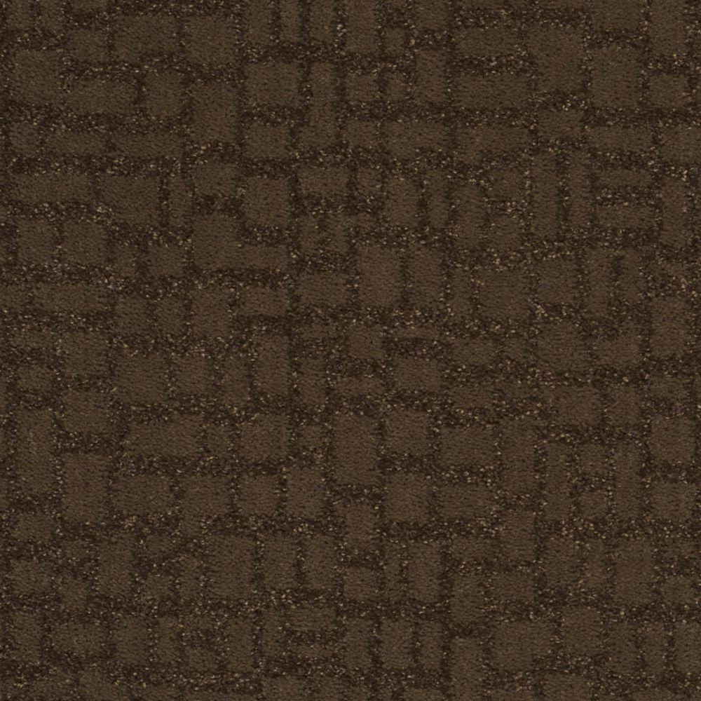 Martha Stewart Living Mount Brayburn - Color Molasses 6 in. x 9 in. Take Home Carpet Sample-DISCONTINUED