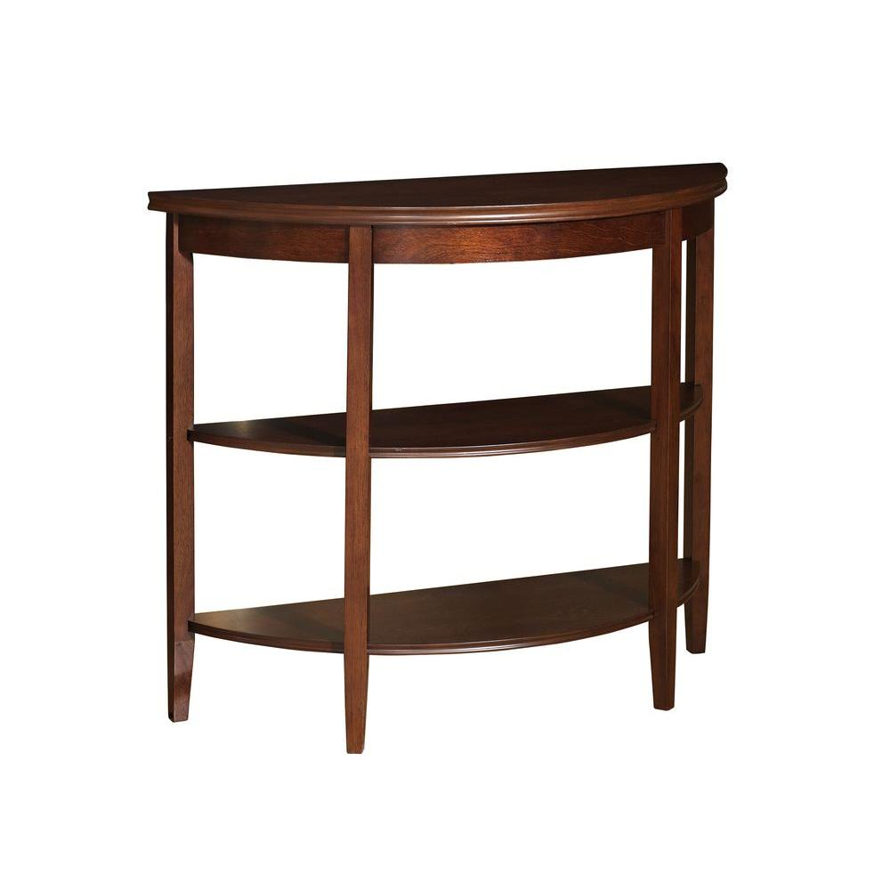 Powell Shelburne Cherry Console Table