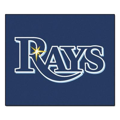 Tampa Bay Rays 5 ft. x 6 ft. Tailgater Rug
