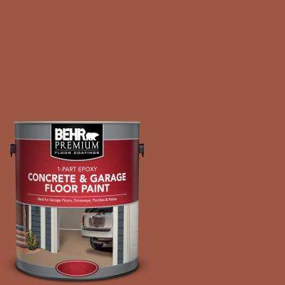 1 gal. #PFC-15 Santa Fe 1-Part Epoxy Concrete and Garage Floor Paint