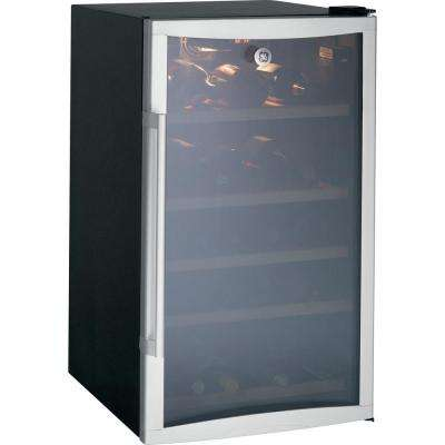 31-Bottle Wine/Beverage Cooler in Silver