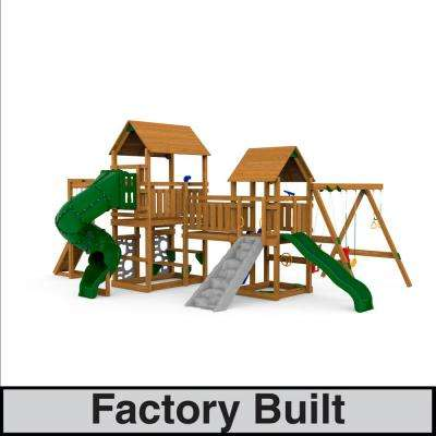 Super Star XP Gold Factory Built Play Set