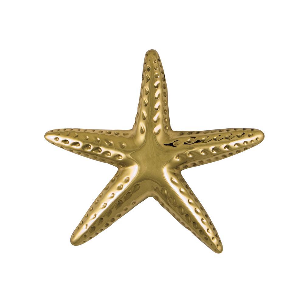 Michael Healy Brass Starfish Door Knocker