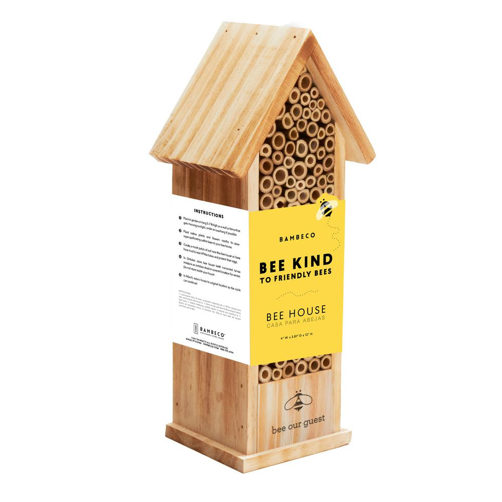 12 in. Mason Tower Bee House