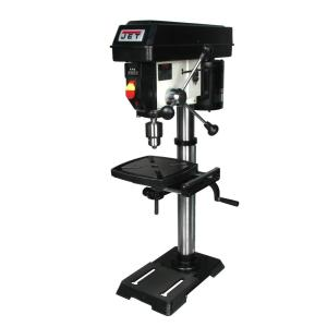 Click here to buy JET 1/3 HP 12 inch Benchtop Drill Press, Variable Speed, 115-Volt, JWDP-12 by JET.