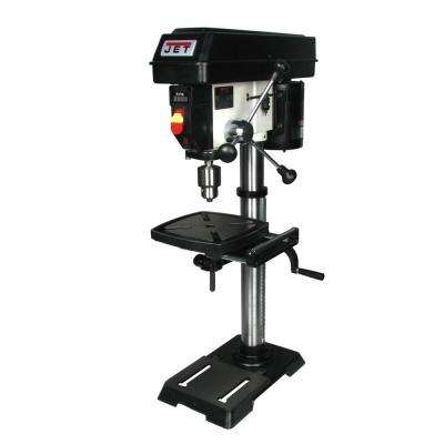1/3 HP 12 in. Benchtop Drill Press, Variable Speed, 115-Volt, JWDP-12