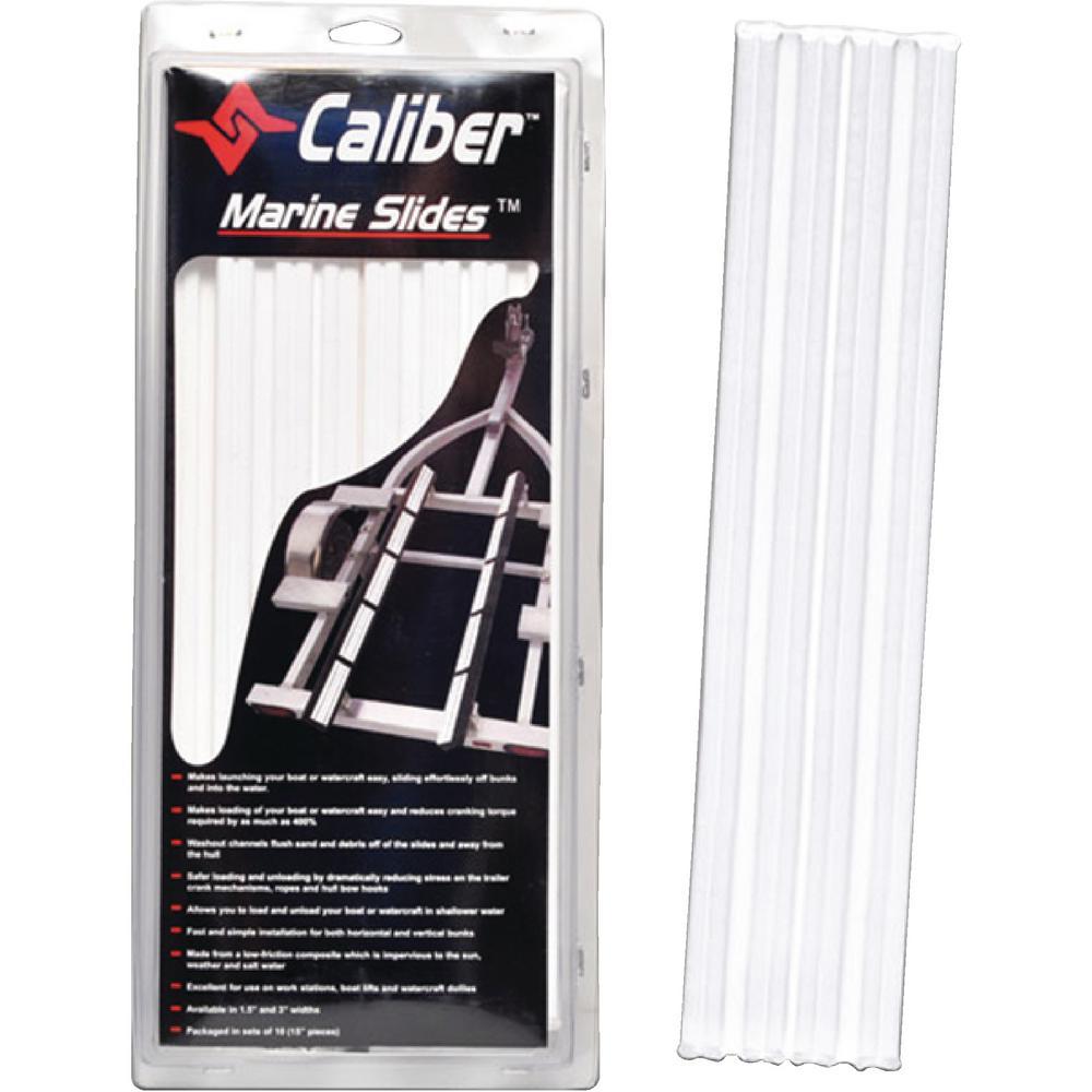 Marine Bunk Slides in White