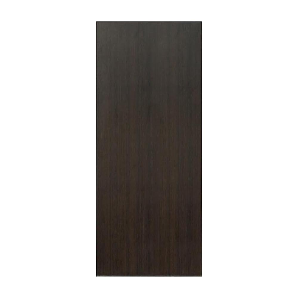 32 in. x 80 in. Collory Dark Brown Smooth Flush Panel