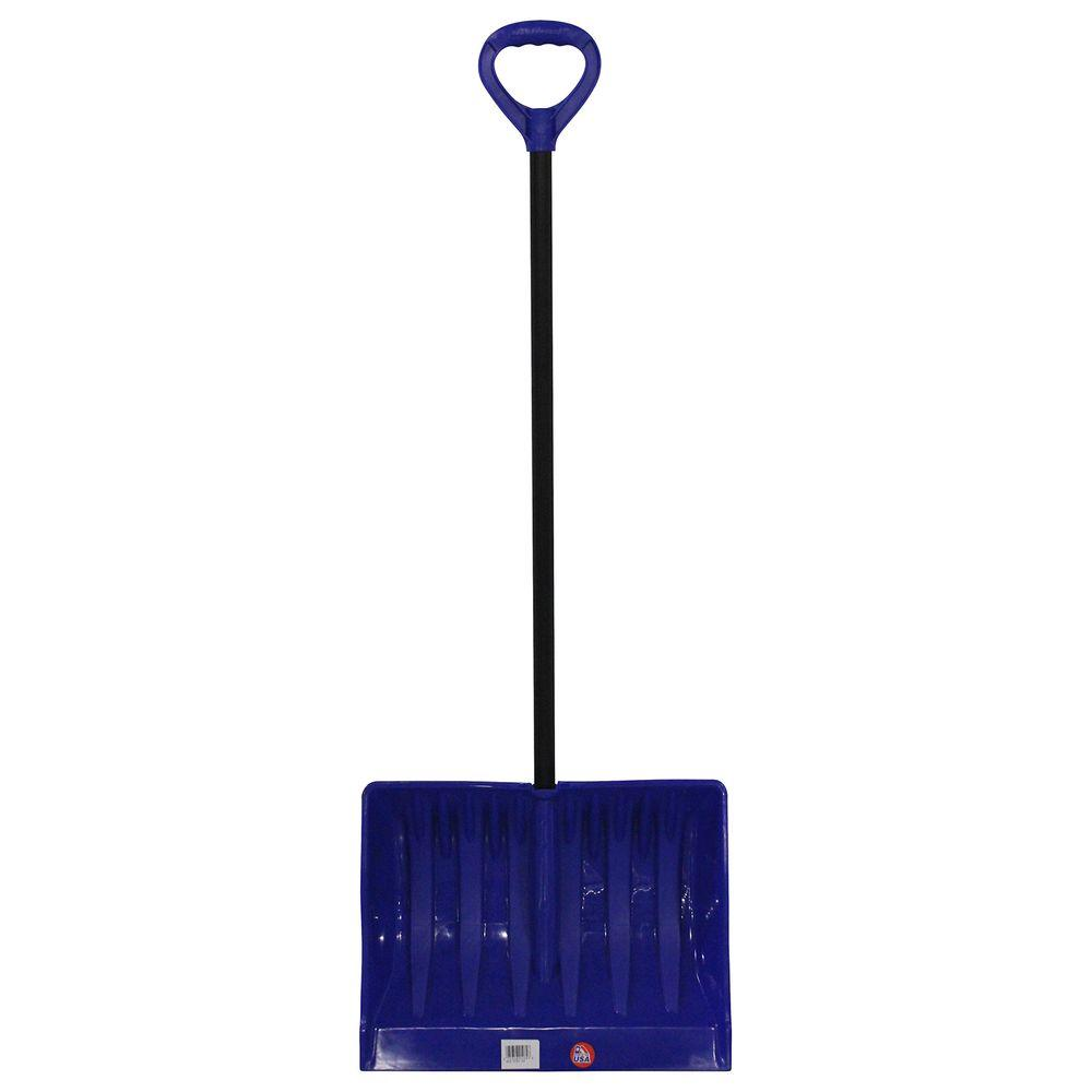 Emsco Bigfoot Series 19 in. Mega Combination Poly Snow Shovel with Metal Handle