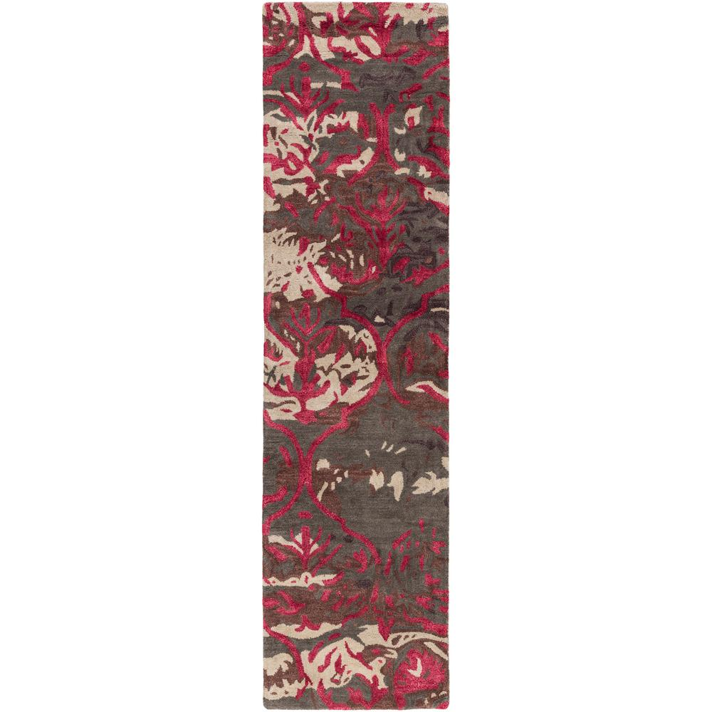 Pacific Holly Chocolate Brown 2 ft. x 8 ft. Indoor Runner