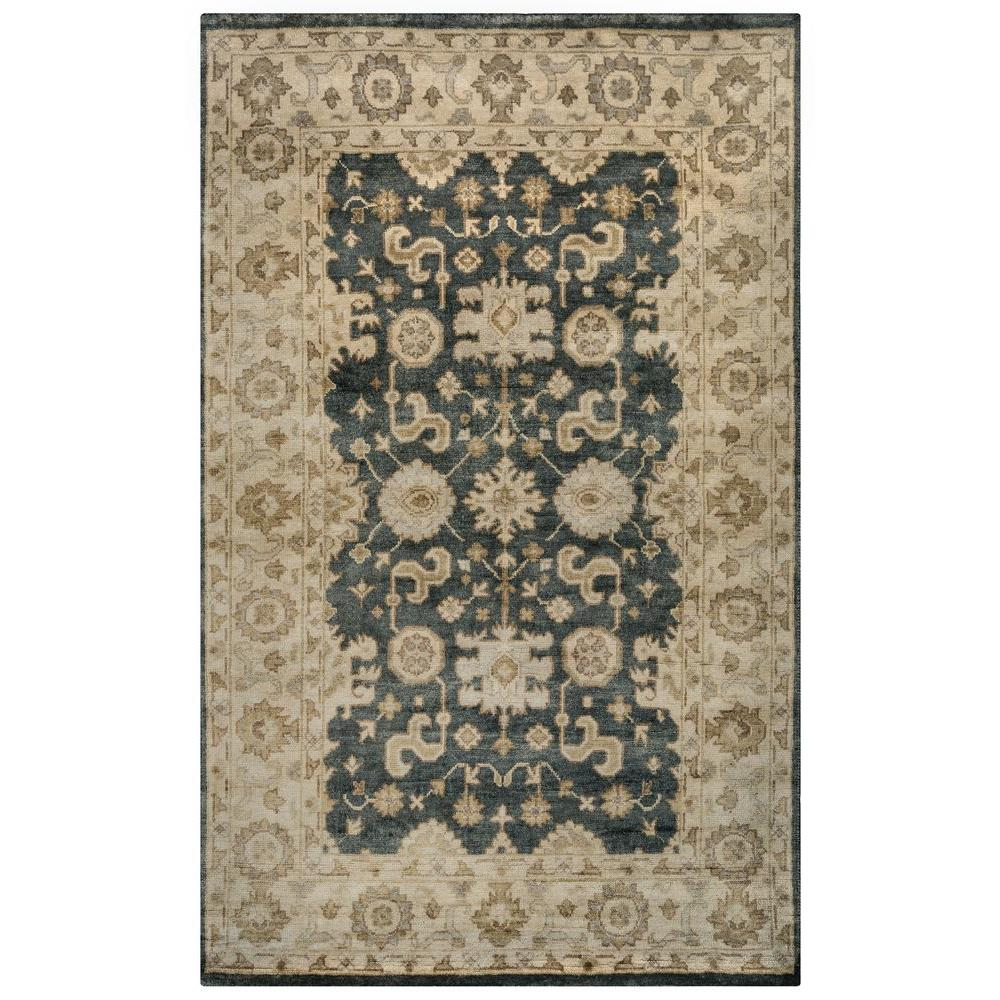 Rizzy Home Hand-Knotted Gray 2 ft. x 3 ft. Area Rug