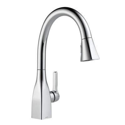 Mateo Single-Handle Pull-Down Sprayer Kitchen Faucet with ShieldSpray Technology in Chrome