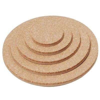 14 in. Cork Saucers