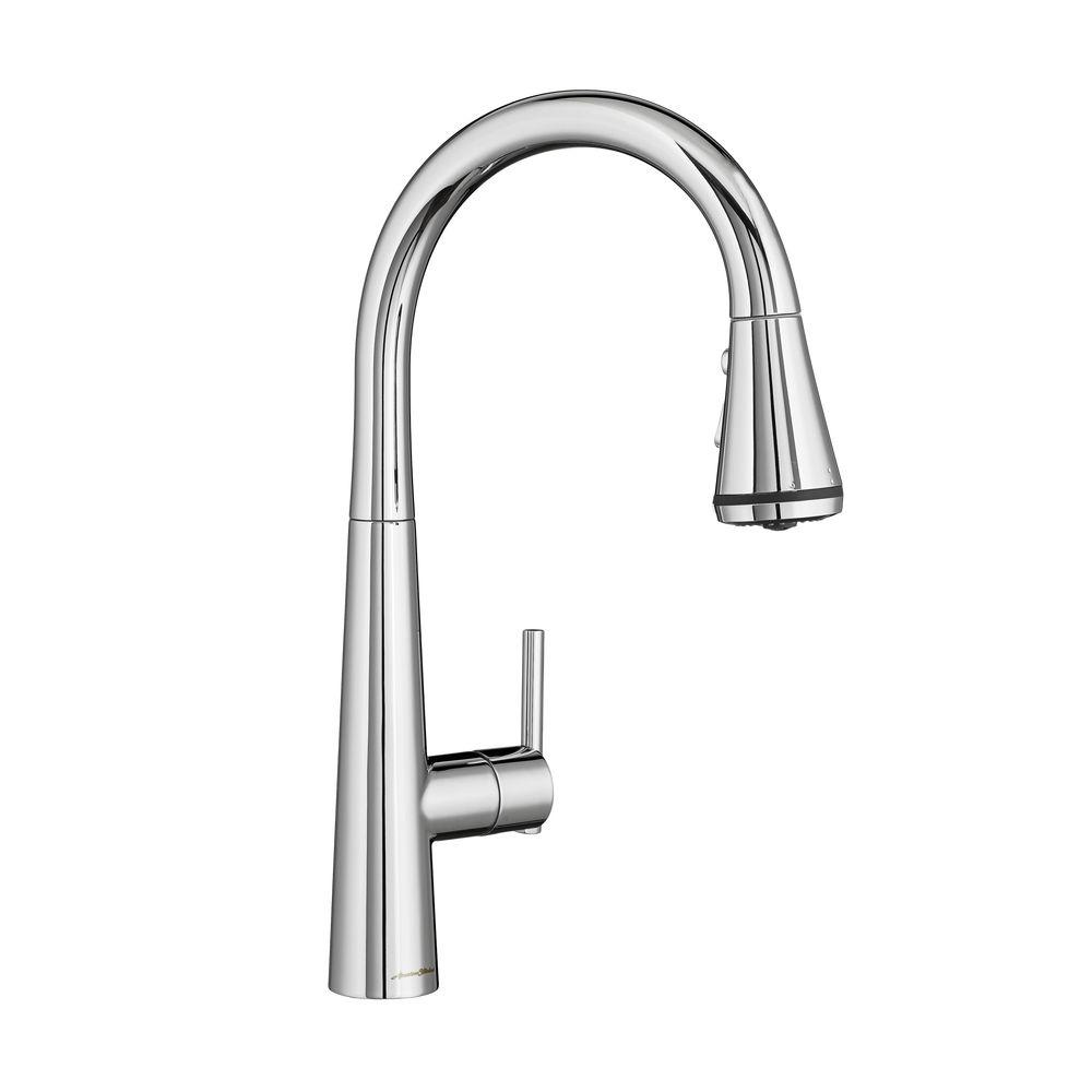 Edgewater Single-Handle Pull-Down Sprayer Kitchen Faucet with SelctFlo in