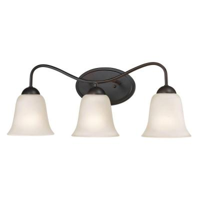 Conway 3-Light Oil-Rubbed Bronze Bath Bar Light