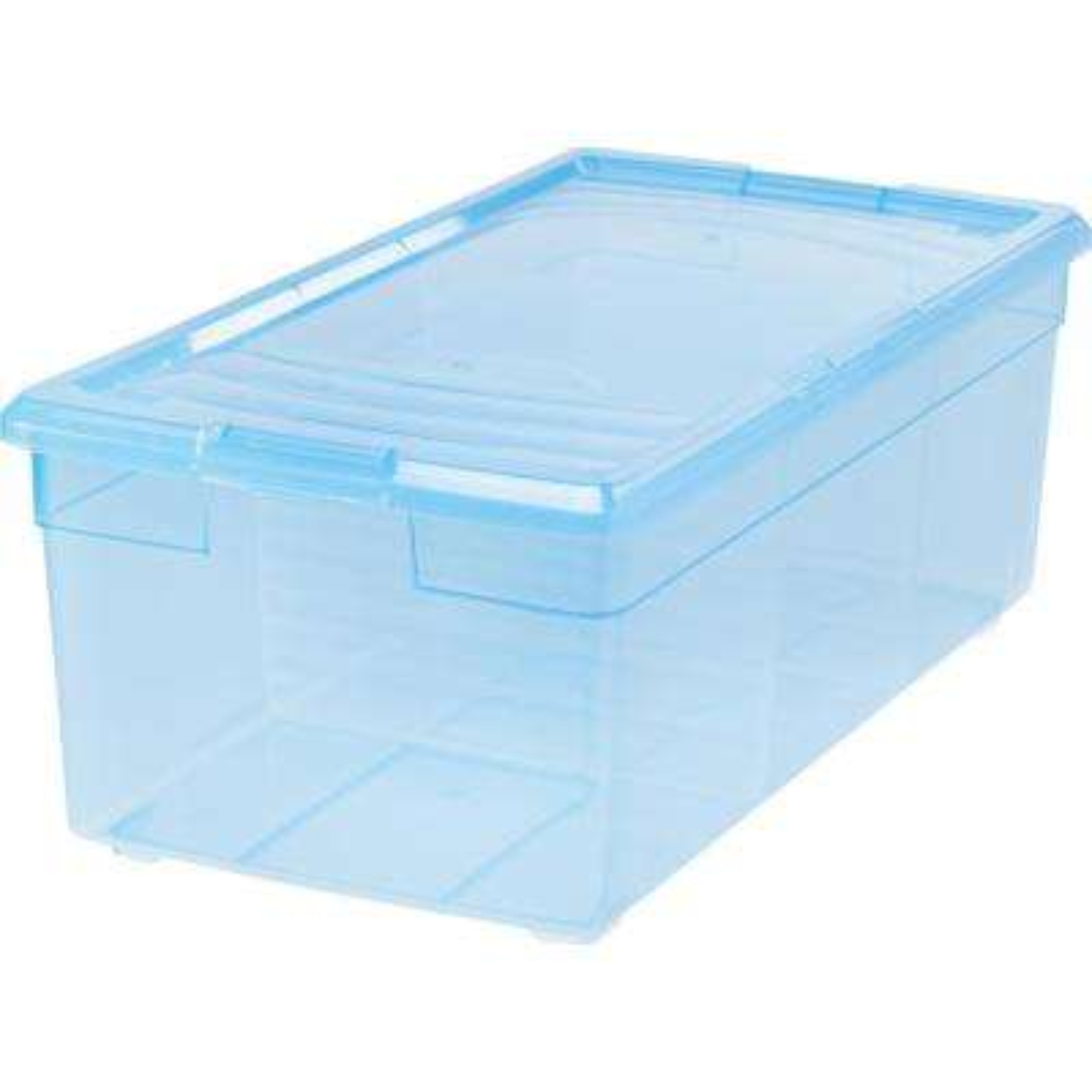 Media Storage Box in Blue (6-Pack)