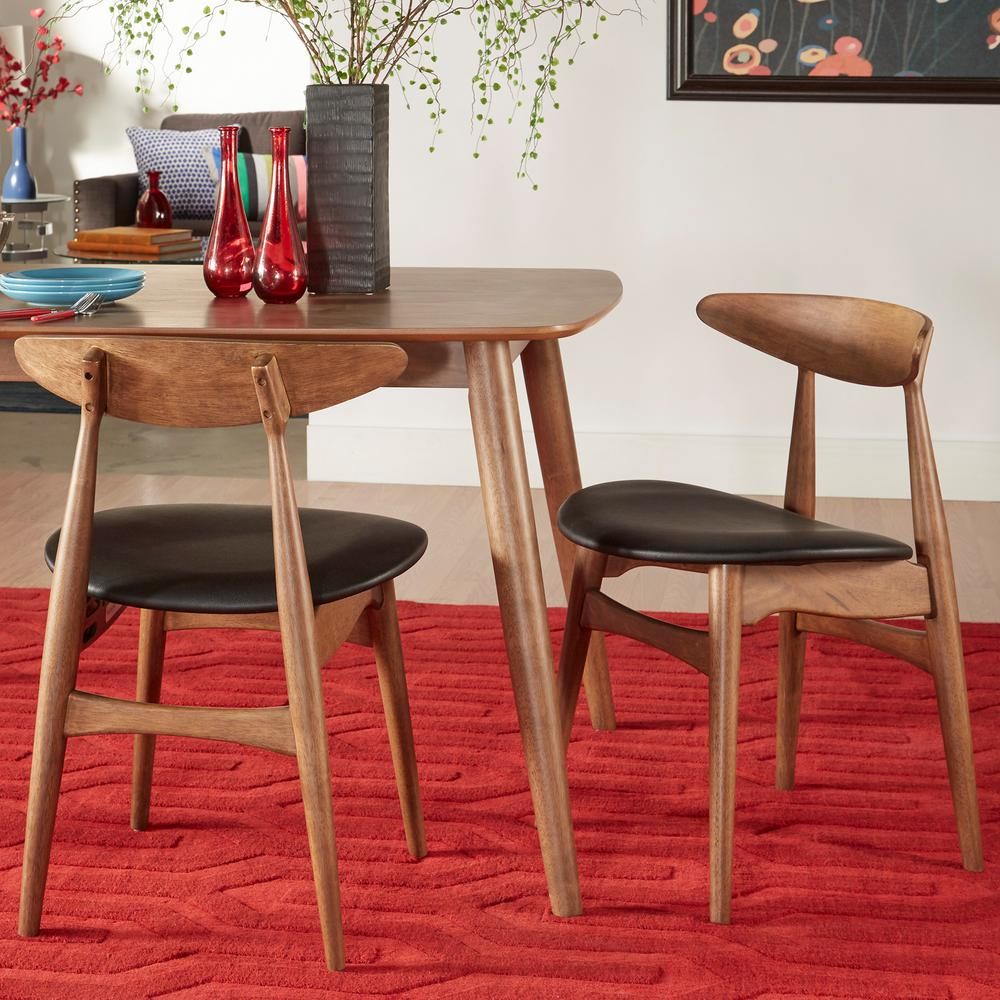 Scandinavian Dining Room Chairs: HomeSullivan Judson Scandinavian Chestnut Dining Chair