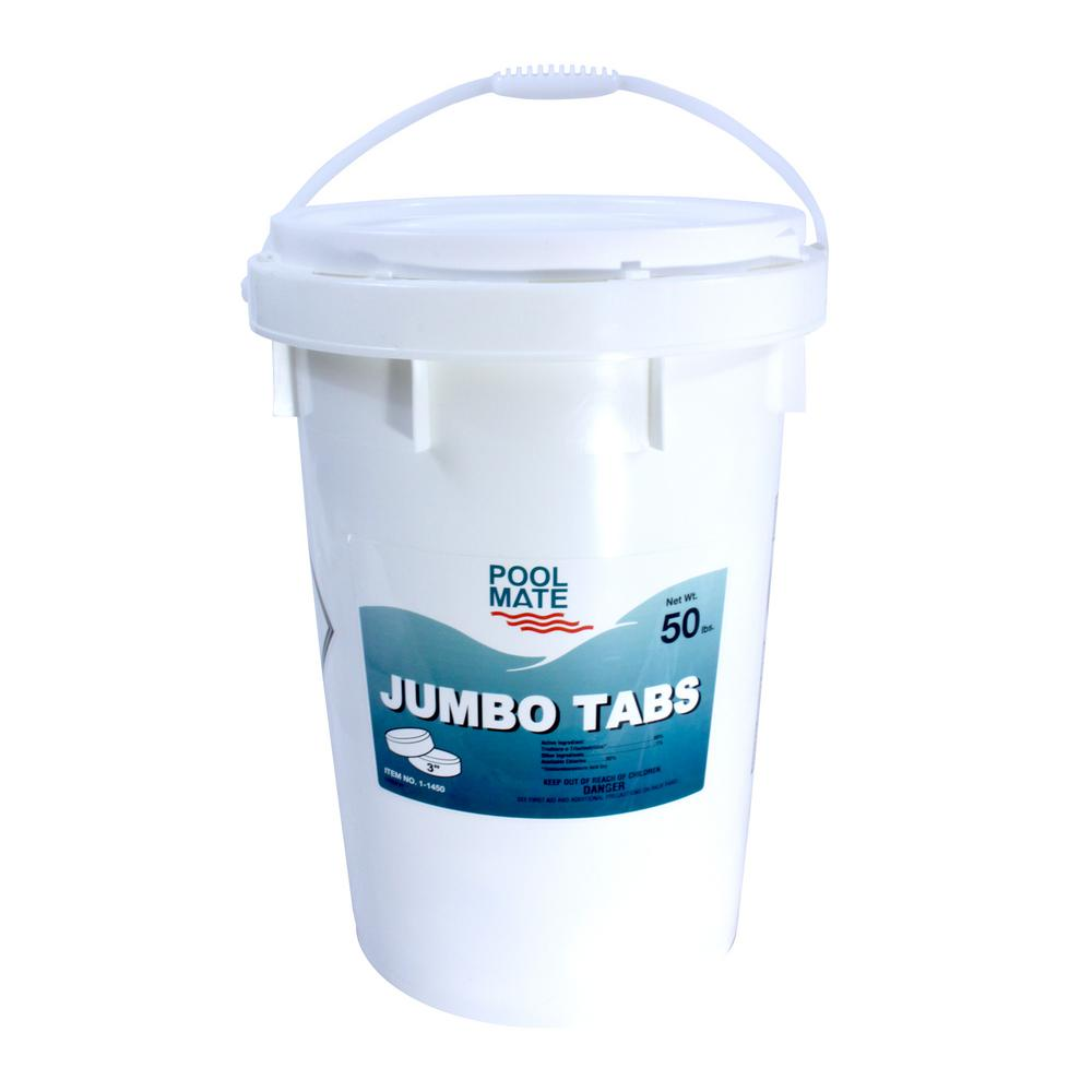 50 lb. Pool 3 in. Chlorine Jumbo Tabs