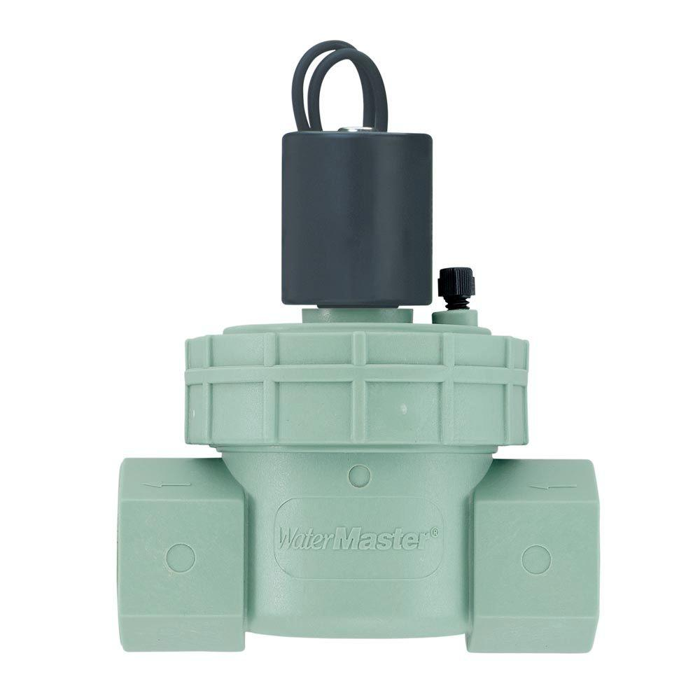 1 In Npt Green Jar Top Valve 57461 The Home Depot