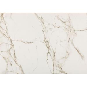 4 in. x 4 in. Ultra Compact Surface Countertop Sample in Entzo Calacatta